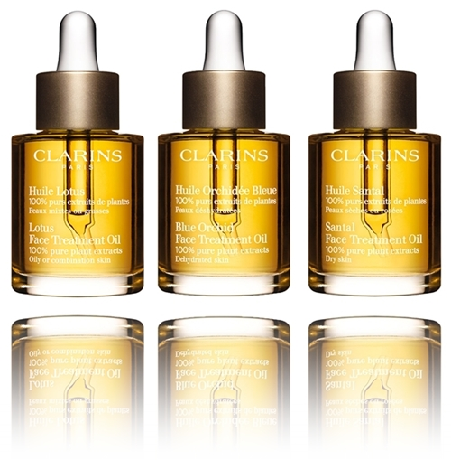 Clarins Face Treatment Oils