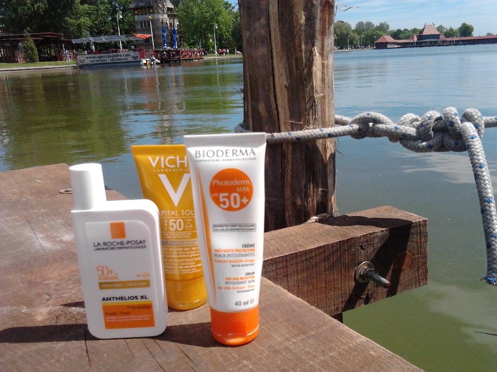 Bioderma La Roche Posay i Vichy sunce lice