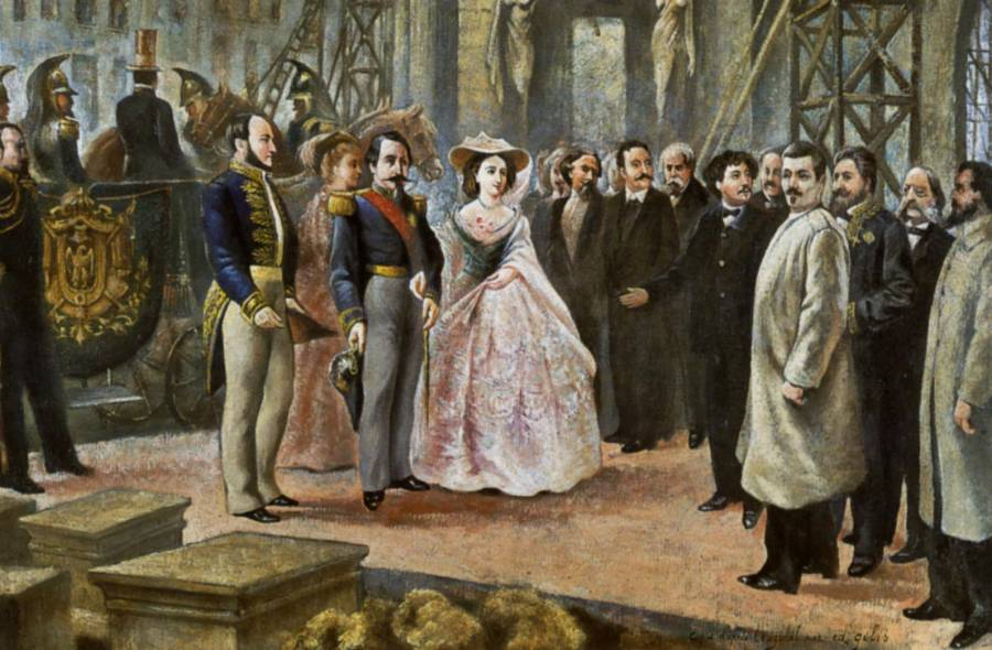 1852_1860_napoleon_iii_et_empress visit opera