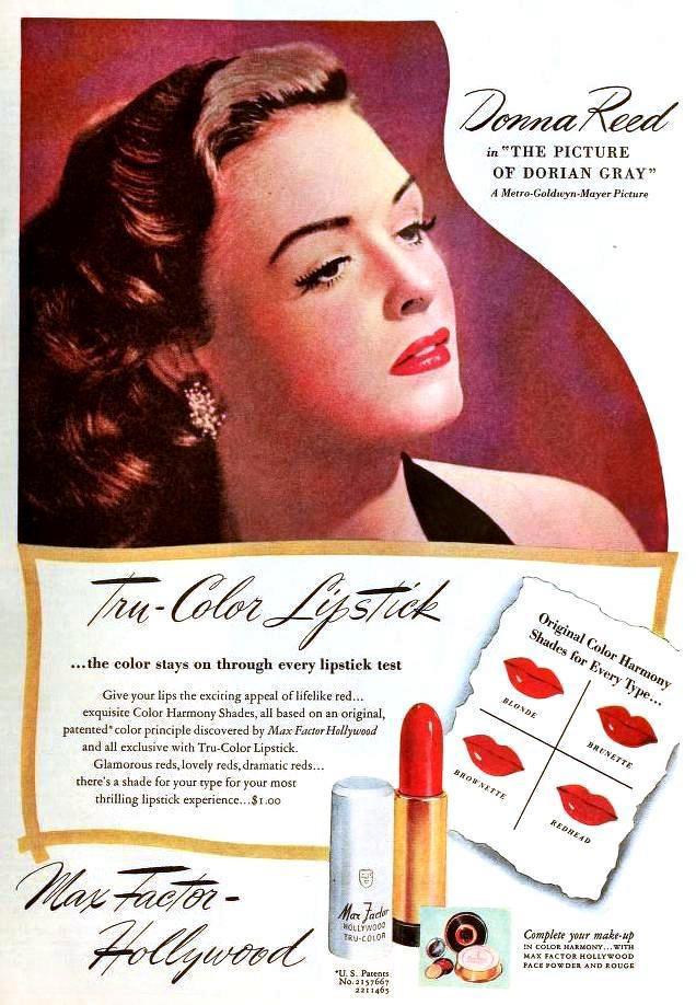 True color lipstick 1940